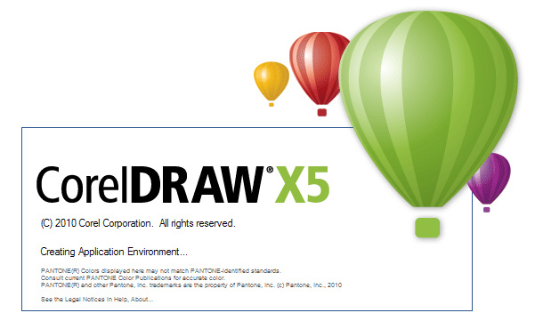 coreldraw各版本启动图标